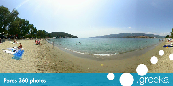360 picture of Poros, Greece