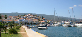 Lovely town of Poros