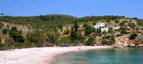 Discover Spetses beaches