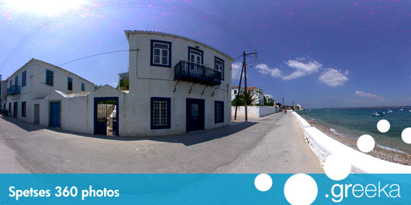 360 picture of Spetses, Greece