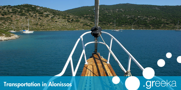 Alonissos transportation