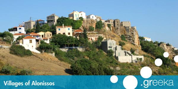 Discover 4 villages in Alonissos island - Greeka.com