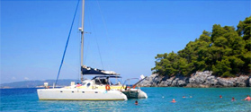 Cruise from Skiathos to Skopelos