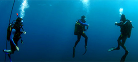 Try diving in Skiathos