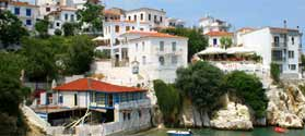 Discover Skiathos villages