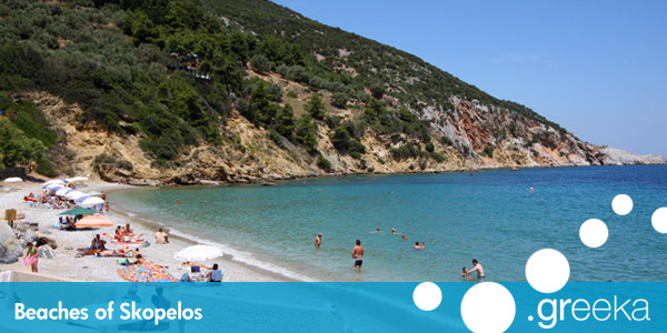 Best 18 Beaches in Skopelos island Greekacom
