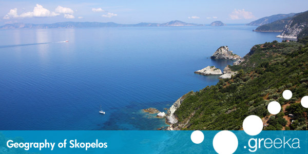 Geography of Skopelos island - Greeka.com