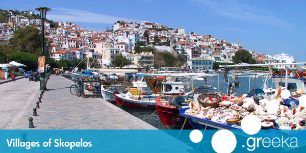 Discover 3 villages in Skopelos island - Greeka.com