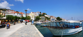 Lovely town of Skopelos