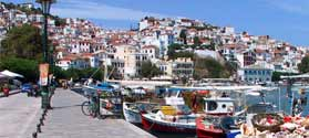 Discover Skopelos villages