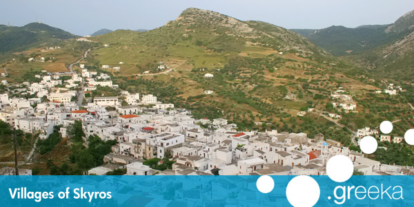 Skyros villages