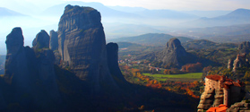 Athens tour to Delphi and Meteora