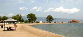 Discover Mesolongi beaches