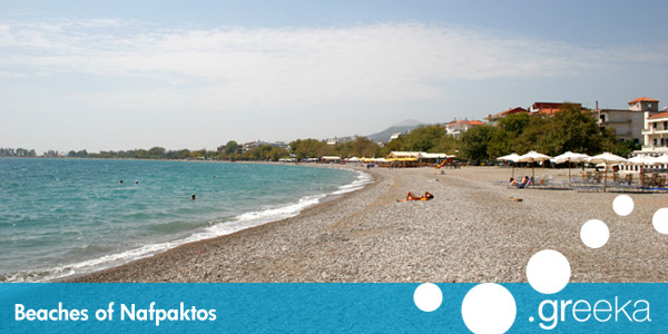 Nafpaktos beaches