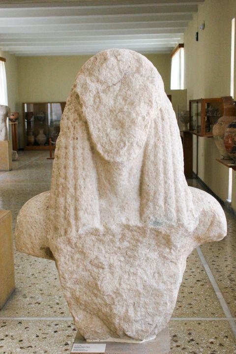 Archaeological Museum: Kouros statue