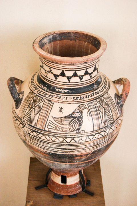 Archaeological Museum: An amphora