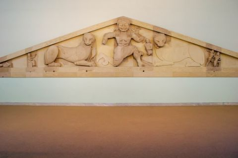 Archaeological Museum: Marble decoration