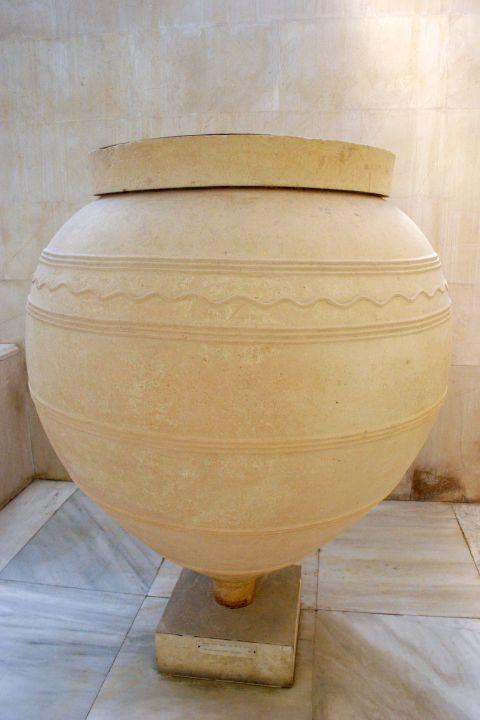 Archaeological Museum: A ceramic vase
