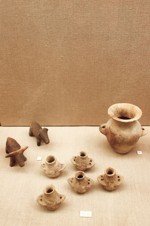 Prehistoric Thera Museum: Small exhibits of the Museum of Prehistoric Thera