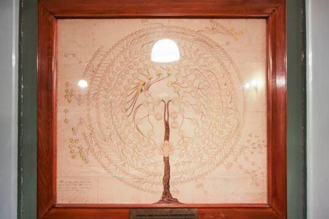 Iakovatios Library: Impressive decoration