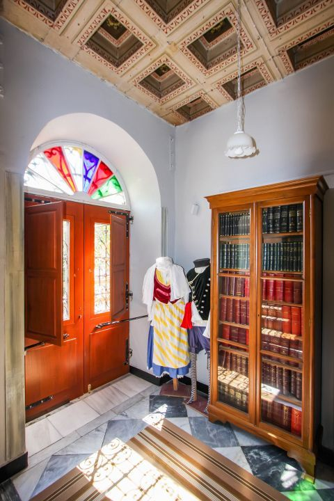 Iakovatios Library: The museum houses various folklore items and a wide collection of rare books and manuscripts.