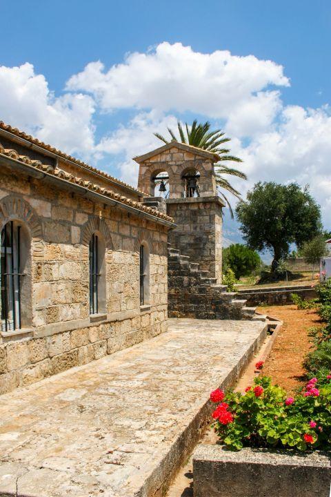 Monastery of Agios Andreas: Stone built monastery