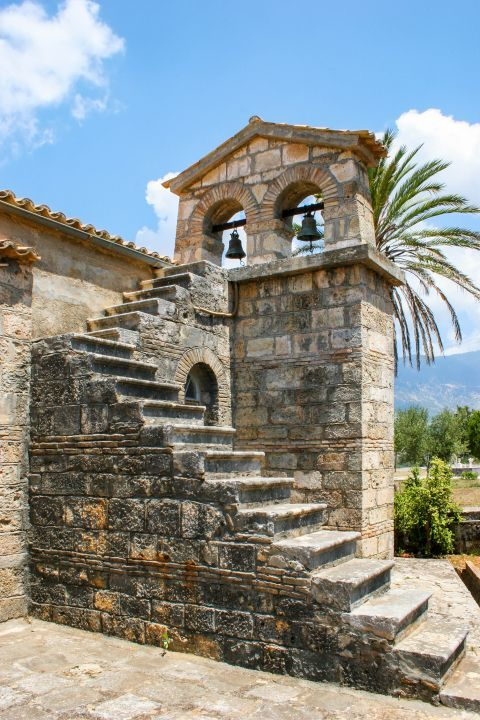 Monastery of Agios Andreas: The belfry of the Monastery