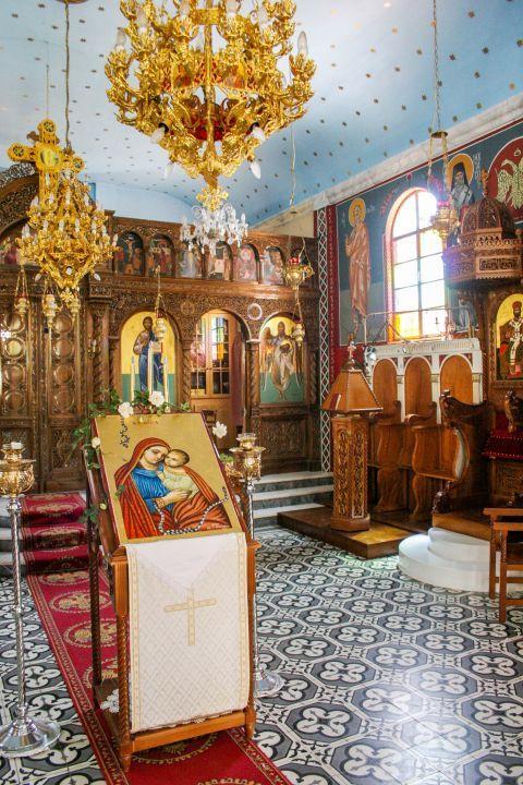 Monastery of Lagouvarda: Inside the Monastery