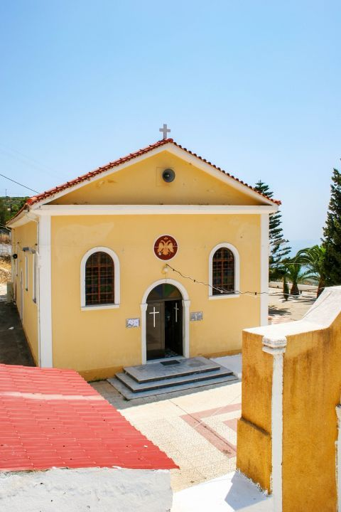 Monastery of Lagouvarda: The monastery of Panagia Lagouvarda