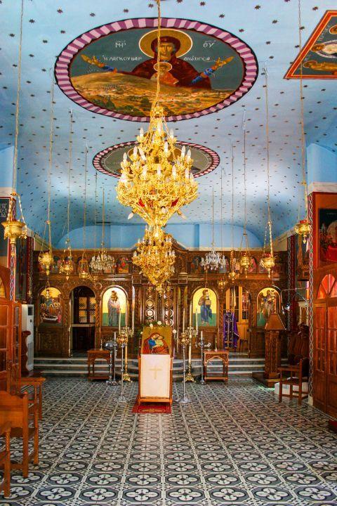 Monastery of Lagouvarda: Impressive decoration and icons