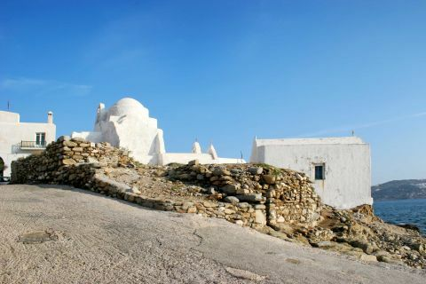 Chora Castle: The Chora's Castle in Mykonos has a lovely sea view