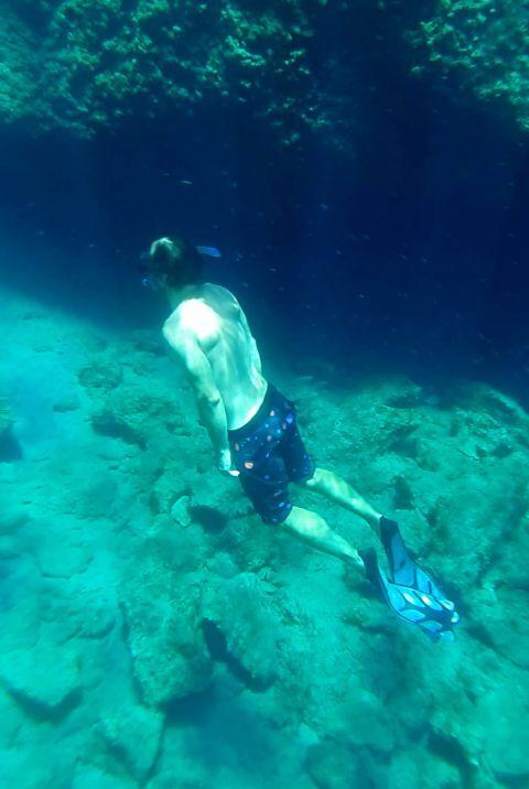 Rina Cave: Diving at Rina Cave