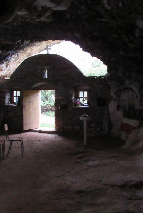 Panagia tis Spilias: Virgin of the cave