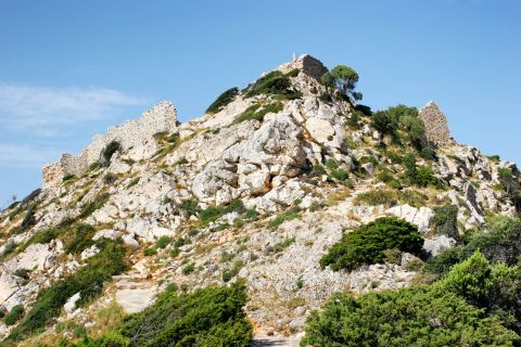 Venetian Castle: The remains of the Venetian Castle of Ios