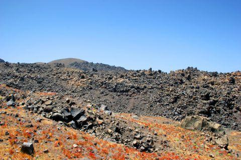 Volcano: Santorini's volcanic land