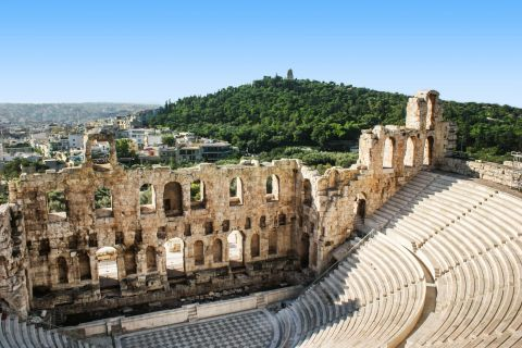 Herodes Atticus Theatre In Athens Greece Greeka Com