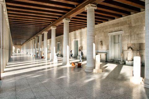 Ancient Agora: At the Stoa of Attalos