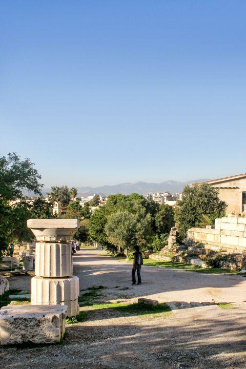 Ancient Agora: At the Ancient Agora