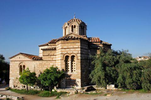 Ancient Agora: The church of Agioi Apostoloi, within the site of the Ancient Agora