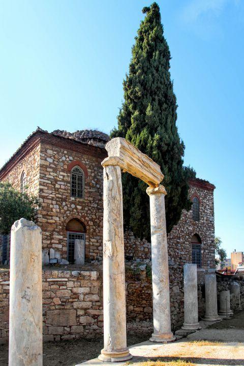 Roman Agora: A Byzantine construction inside the Roman Agora