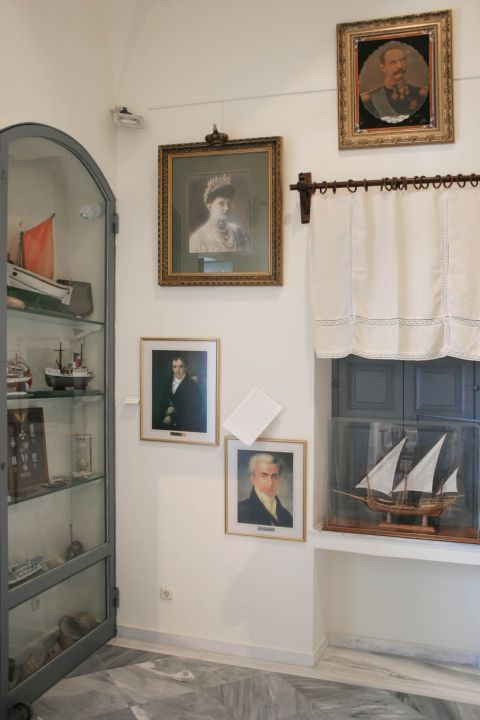 Naval Museum: Portraits of historical personalities