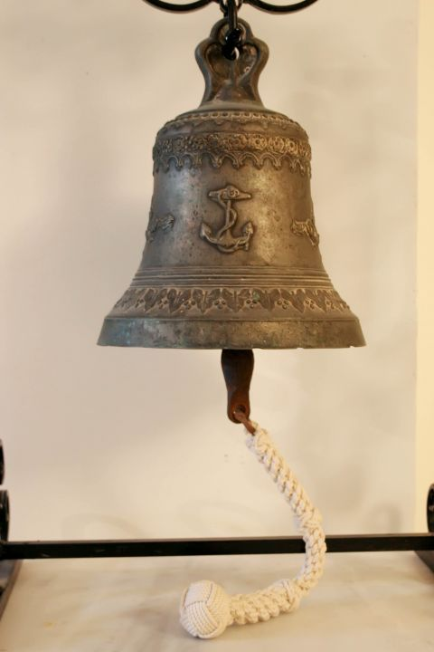 Naval Museum: A bell exhibit