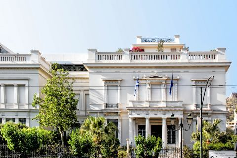 Benaki Museum: The neoclassical building that houses the Benaki museum