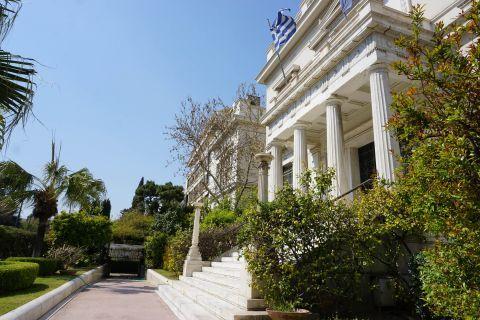 Benaki Museum: Museum's garden