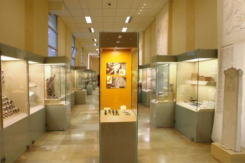 Various exhibits of the Museum