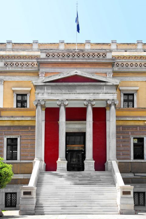 The Historical Museum is housed in a beautiful Neoclassical building that used to be the Parliament House until 1932