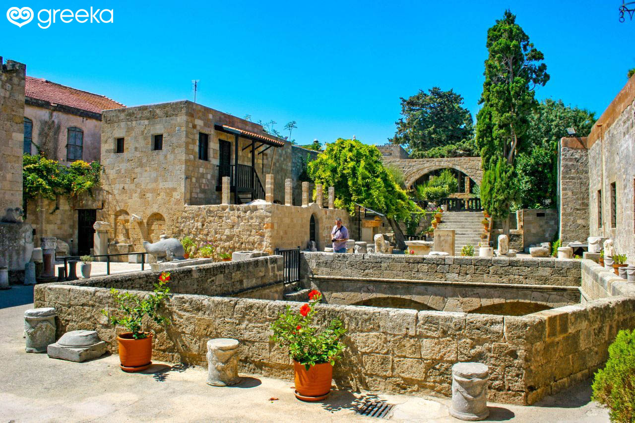 Archaeological Museum in Rhodes, Greece | Greeka.com
