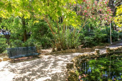 Rodini Park: A quiet spot for relaxing moments.