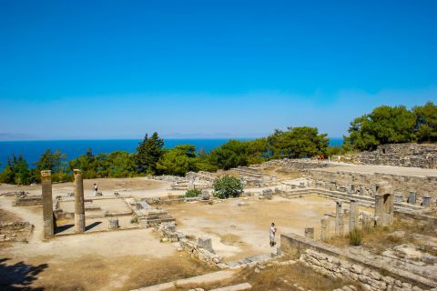 Kameiros was one of the three most powerful cities of Rhodes in ancient times