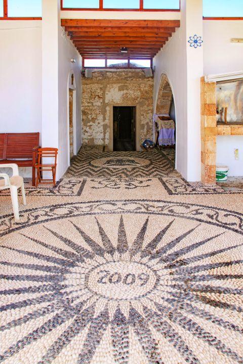 Panagia Tsambika: Inside the monastery of Panagia Tsambika